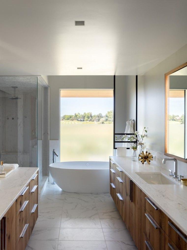 casa rural baño