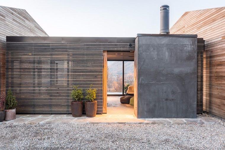 casas-en-noruega-entrada-estilo-moderno
