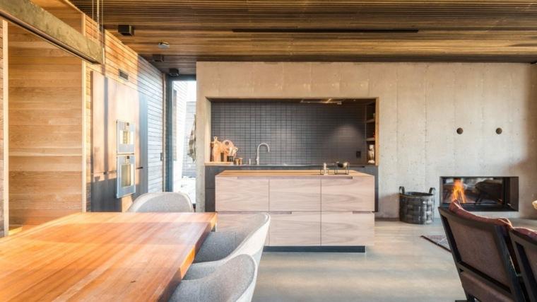 casas en noruega-ideas-cocina-opciones-estilo