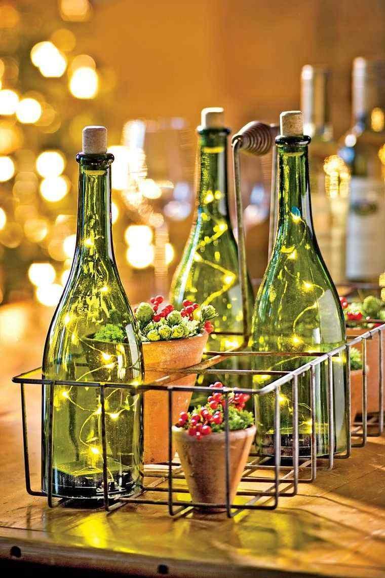 centros-de-mesa-de-navidad-botellas-vidrio