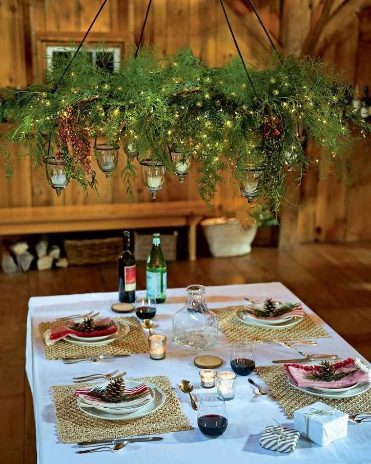 centros de mesa de navidad opciones-elevar-estilo