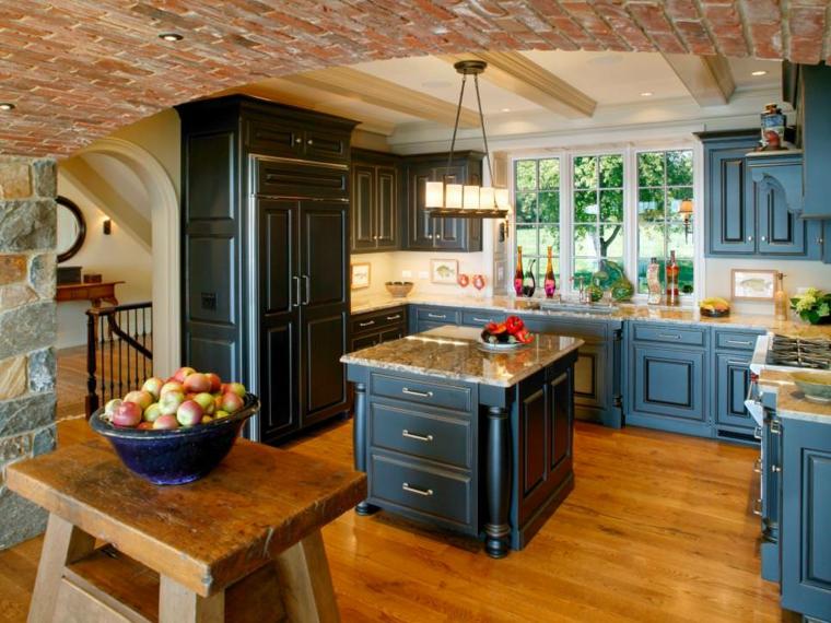 original cocina estilo rústico