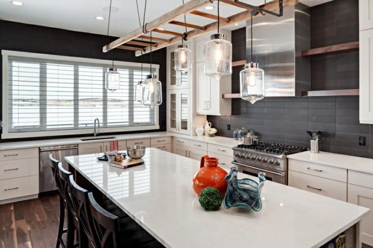 cocina moderna estilo rústico