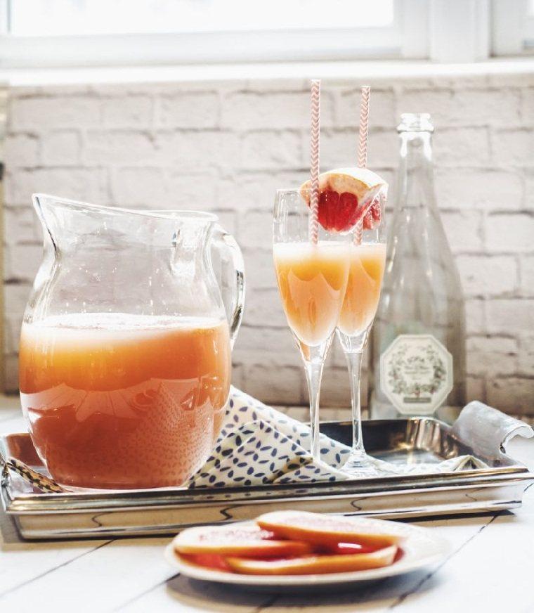 cócteles noche-vieja-recetas-ideas-mimosa-pomelo