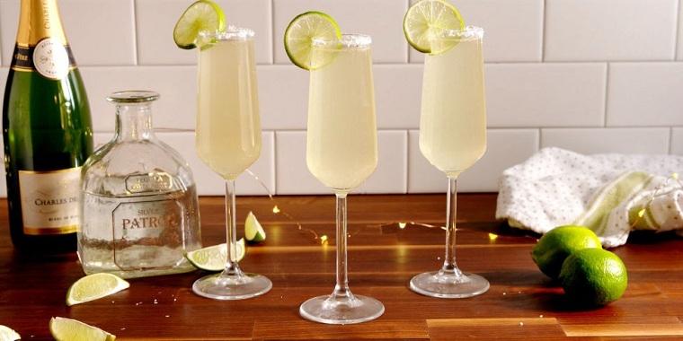 cócteles -noche-vieja-recetas-margaritas-champan