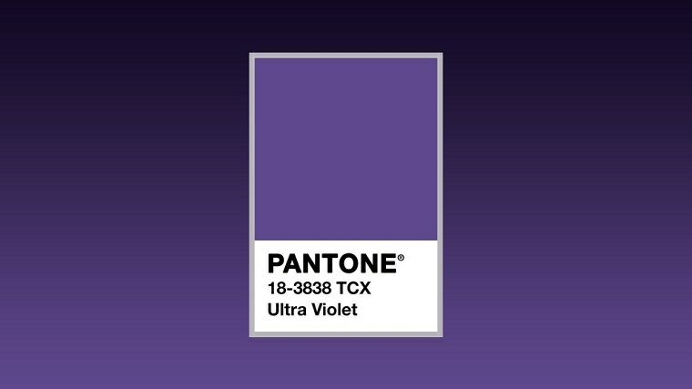 Color pantone el ultra violet es el color m s de moda for Pantone 2017 2018