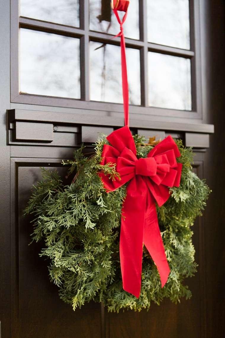 corona-simple-puerta-lazo-rojo-opciones