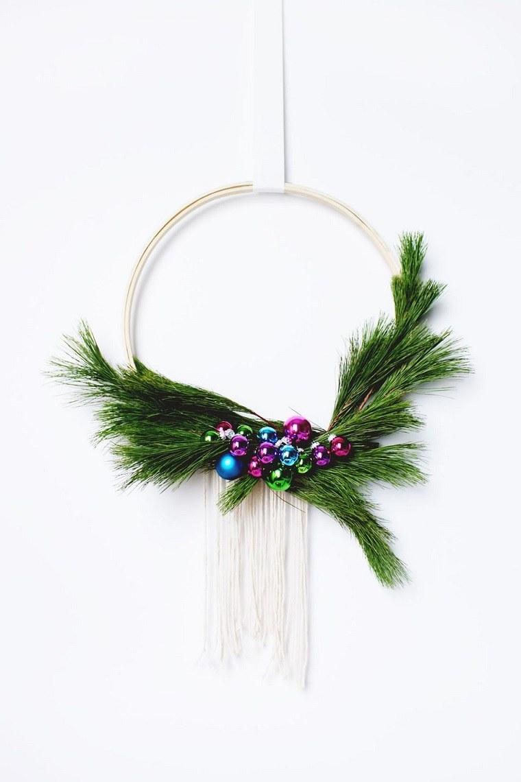 coronas-de-navidad-bellas-manualidades-faciles