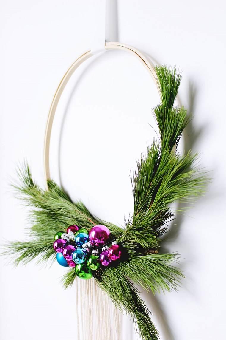 coronas-de-navidad-bellas-manualidades-simples