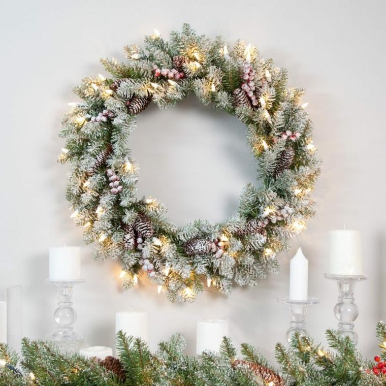 coronas-de-navidad-ideas-luces
