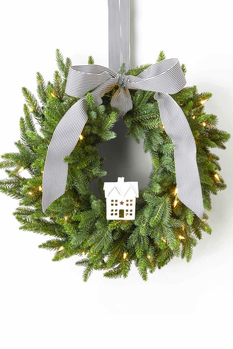 coronas de navidad-luces-navidad