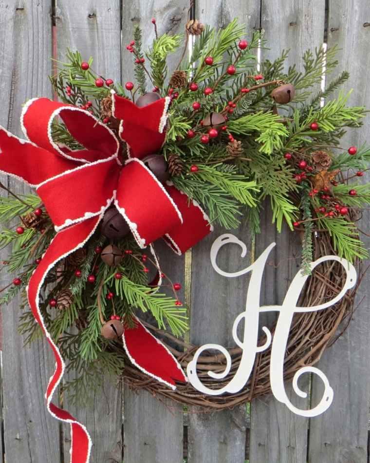 coronas-de-navidad-letras-madera-estilo