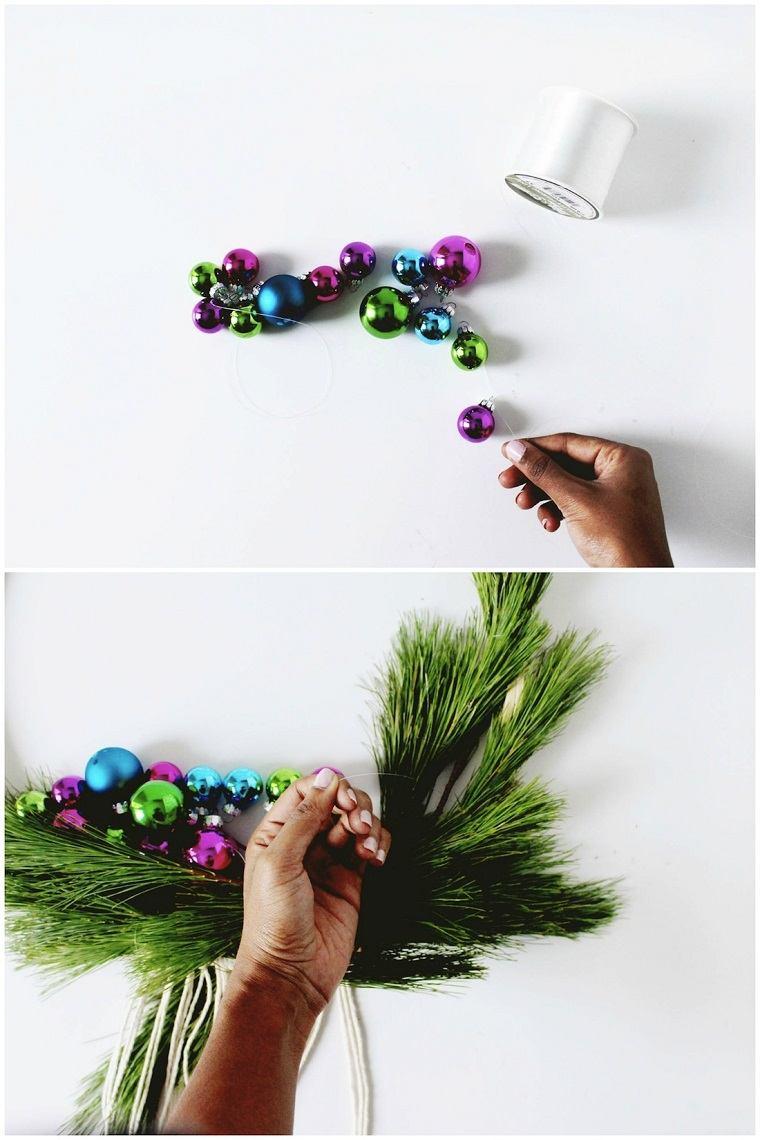 coronas-de-navidad-manualidades-tutorial-pasos