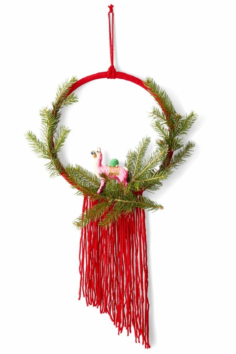 coronas-de-navidad-opciones-decoracion-rojo-verde