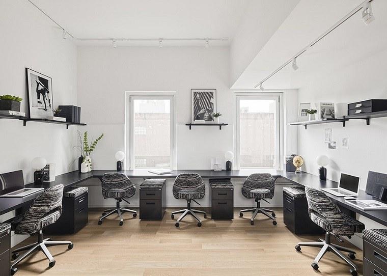 coworking zona-diseno-blanco-negro-oficina