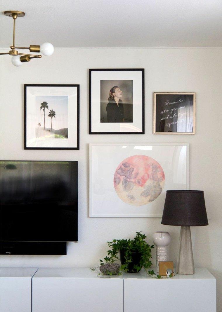 cuadros originales-decorar-pared-opciones