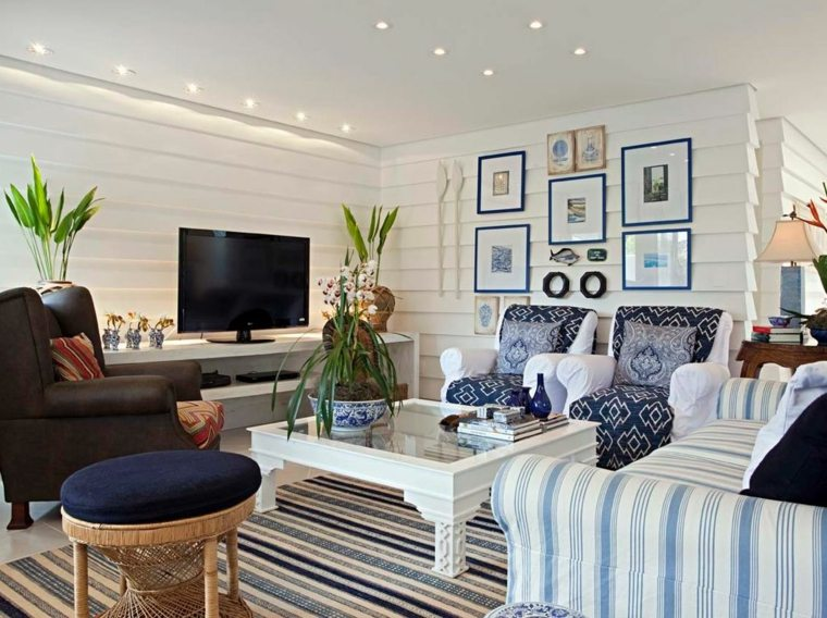 cuadros originales-habitacion-diseno-estilo-marino