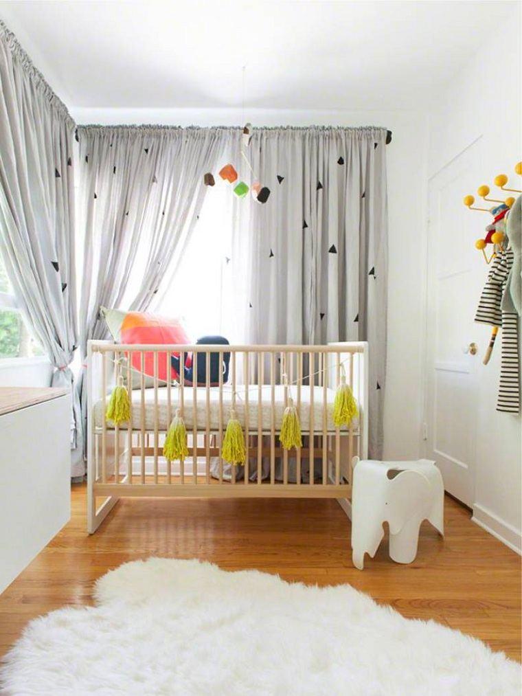 cuna-madera-cortinas-estilo-habitacion-bebe-estilo