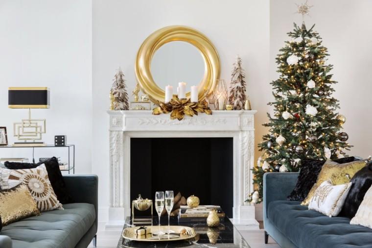 decoracion-arbol-navidad-salon-lujoso-chimenea