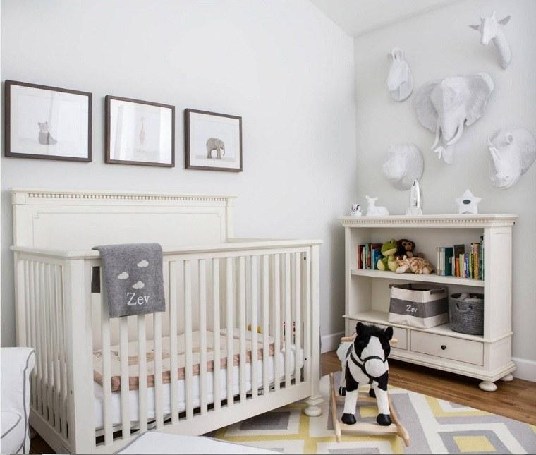 decoracion habitación bebe-cuna-mueble