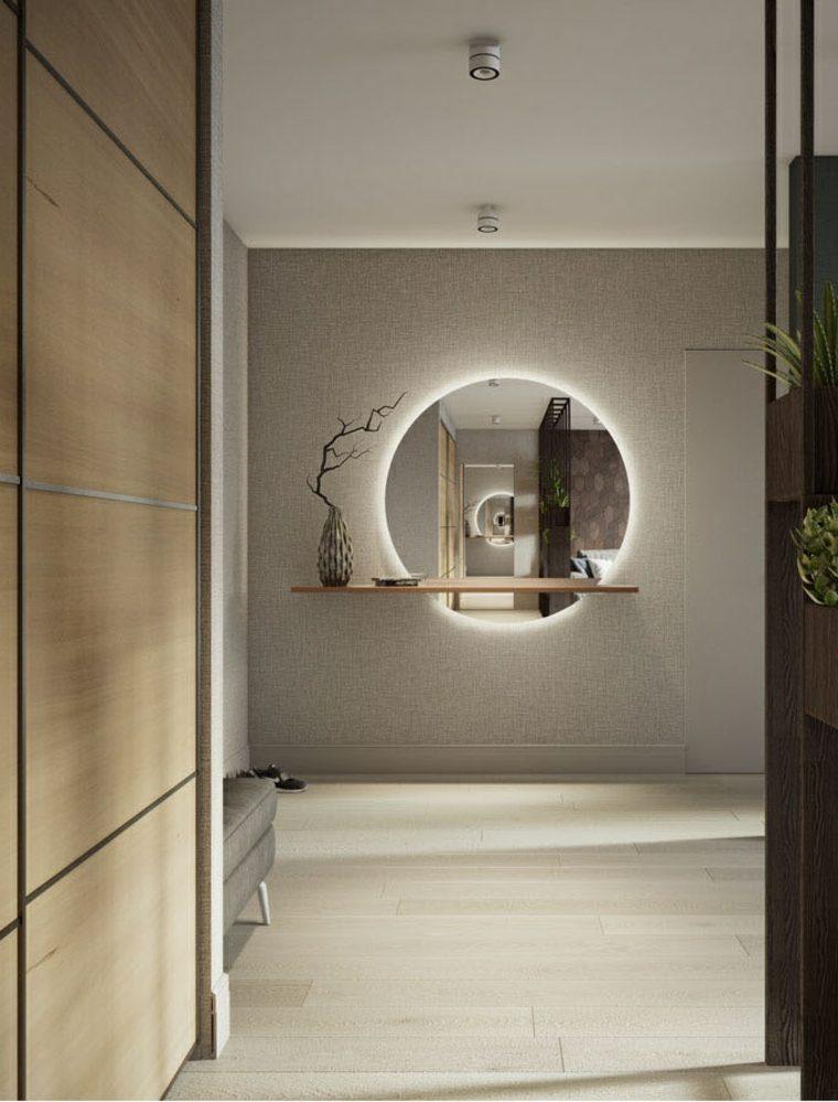 diseño contemporaneo plantas interiores
