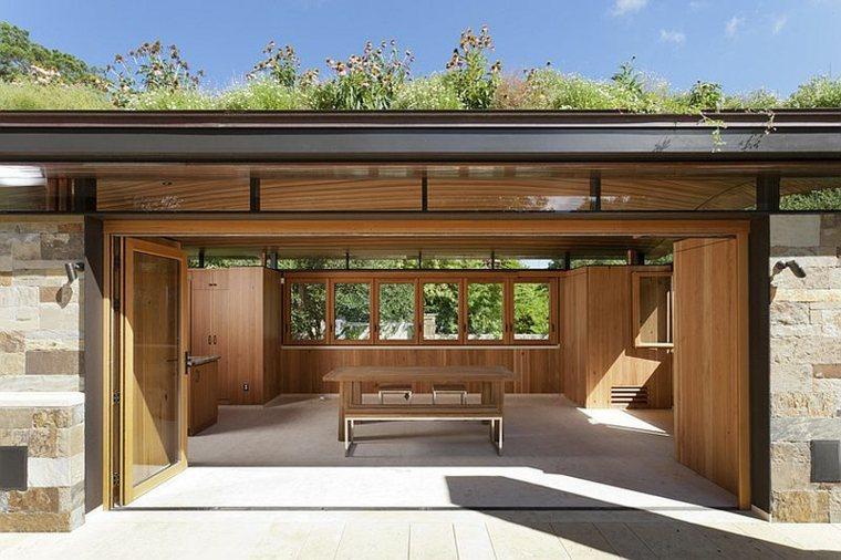 diseño ecologico abierto salon