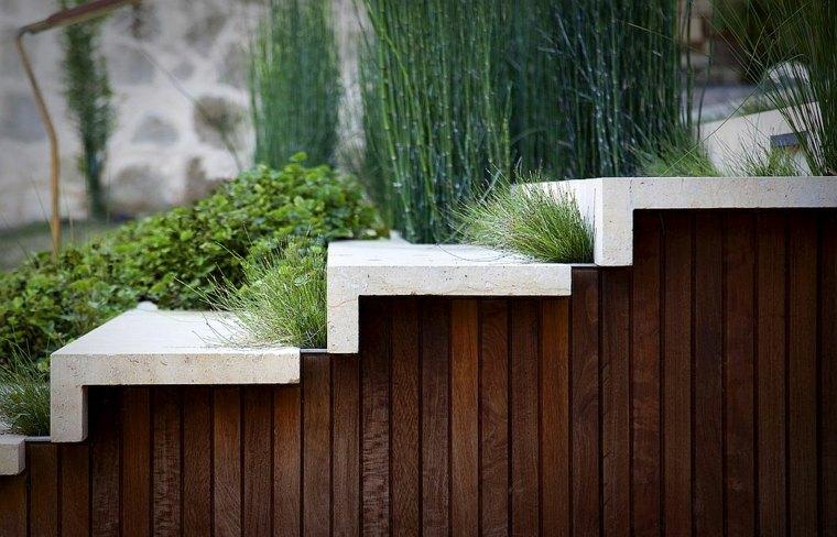 diseño ecologico escaleras verdes