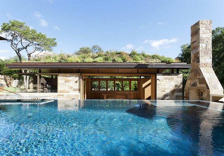 diseño ecologico moderno paisajes