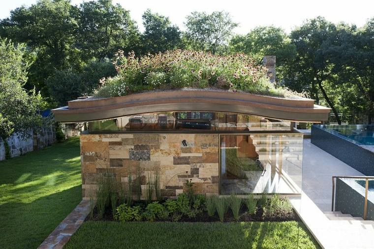 diseño ecologico moderno techos