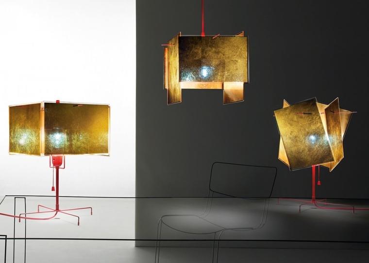 diseño industrial lamparas metalicas