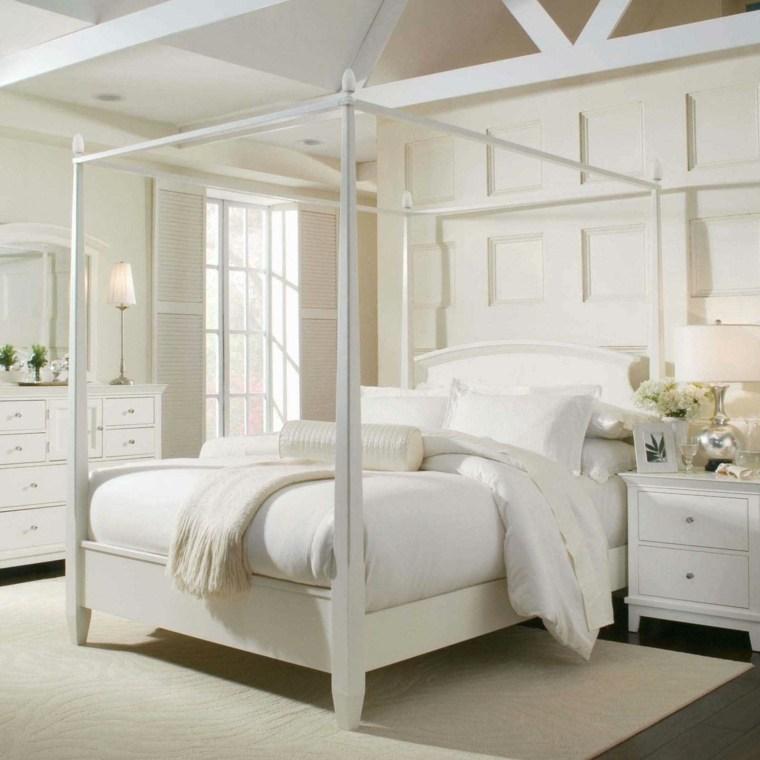 diseno-dormitorio-blanco-cama-dosel