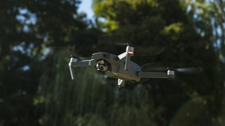 drone Mavik-pro-volando