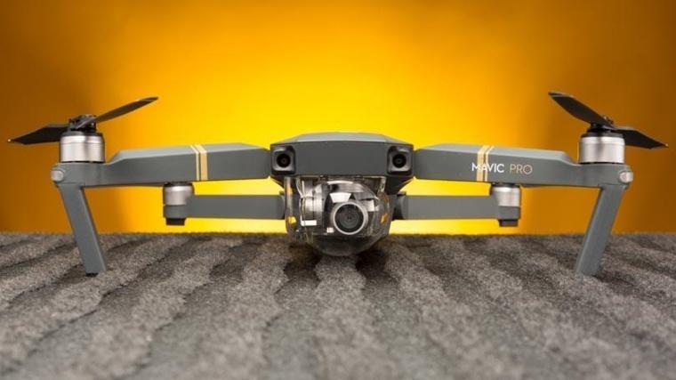 drone en-tierra
