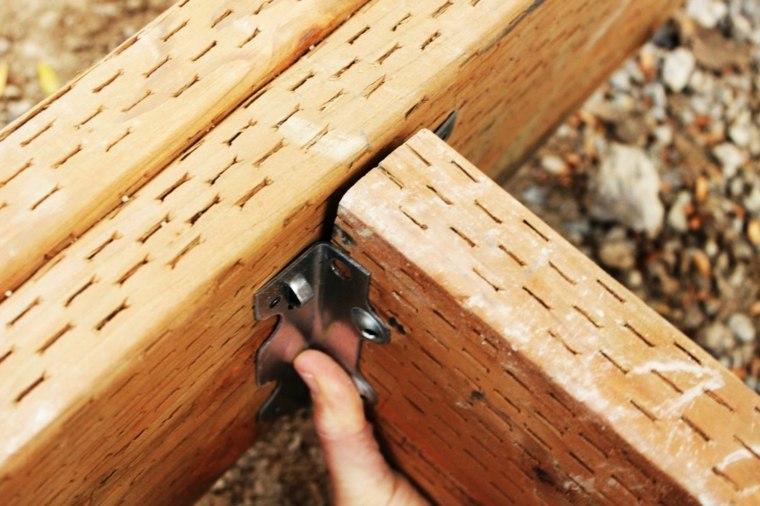 instalar las viguetas de una cubierta