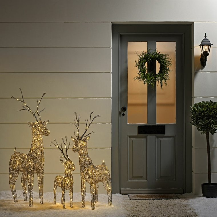 ideas para decorar puerta de entrada