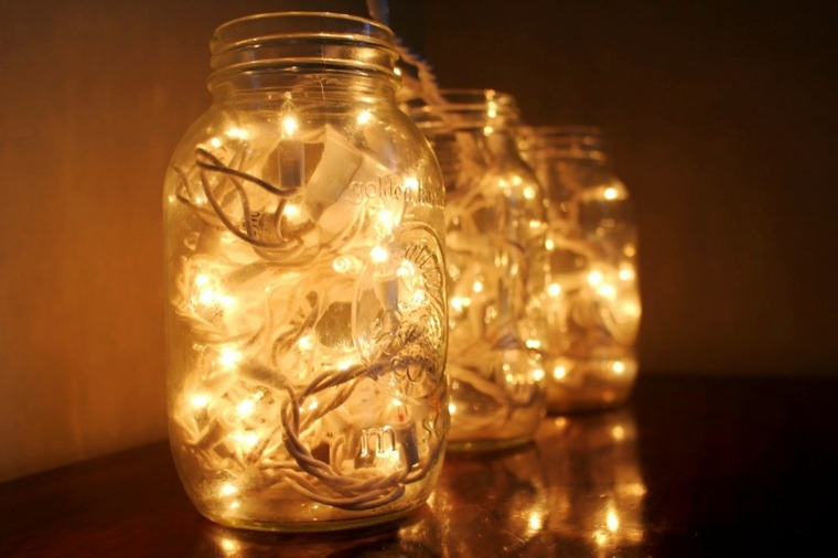 guirnaldas de luces en-botes