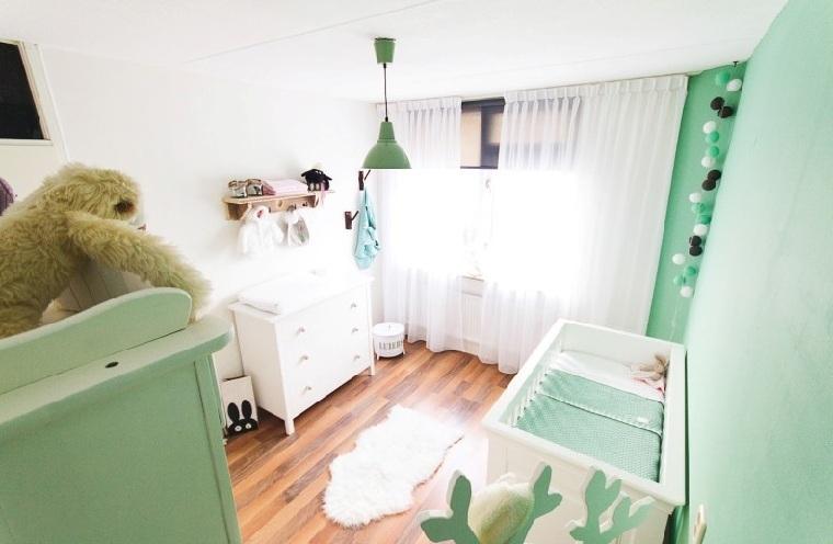 habitacion-bebe-color-verde-lima-opciones