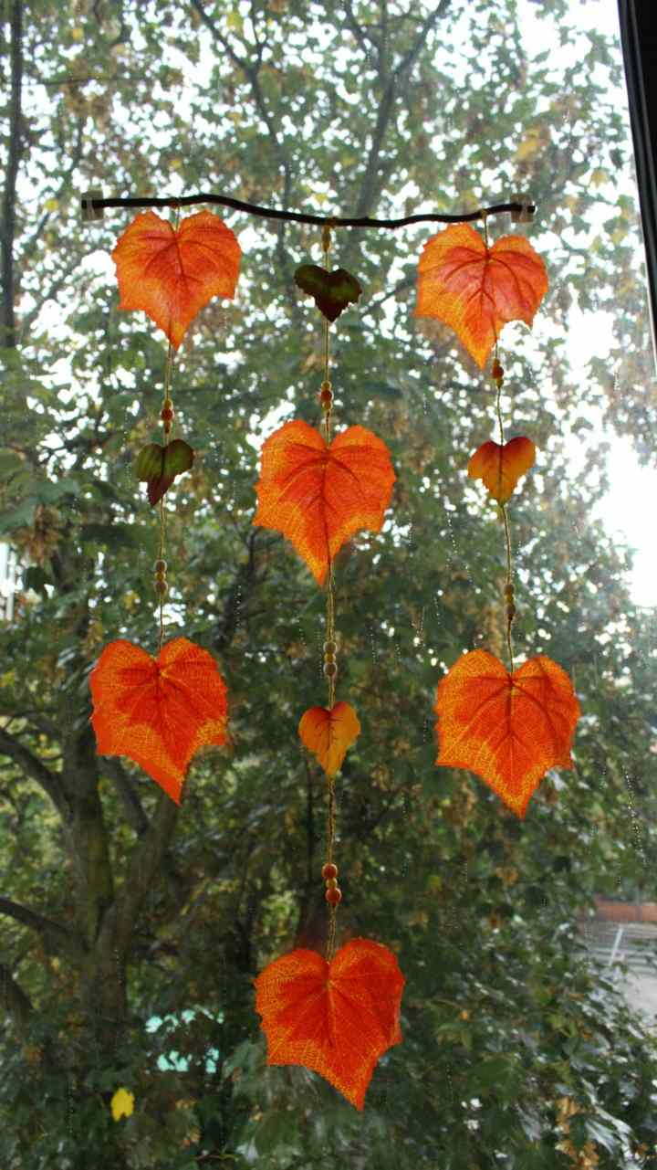 hojas ideas acentos naturales