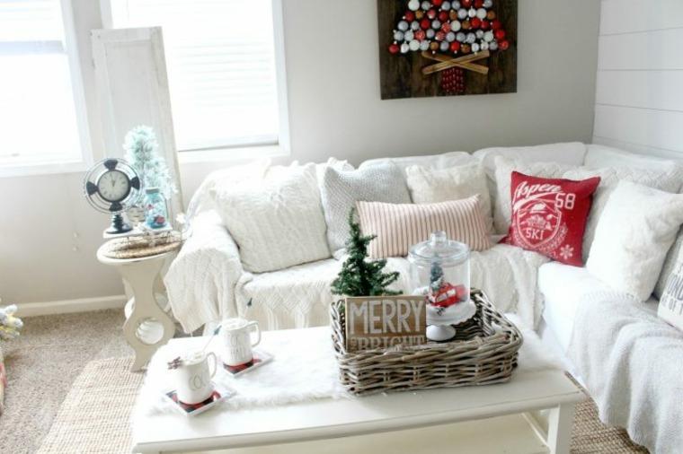 pasos para decorar una mesa de sala de estar