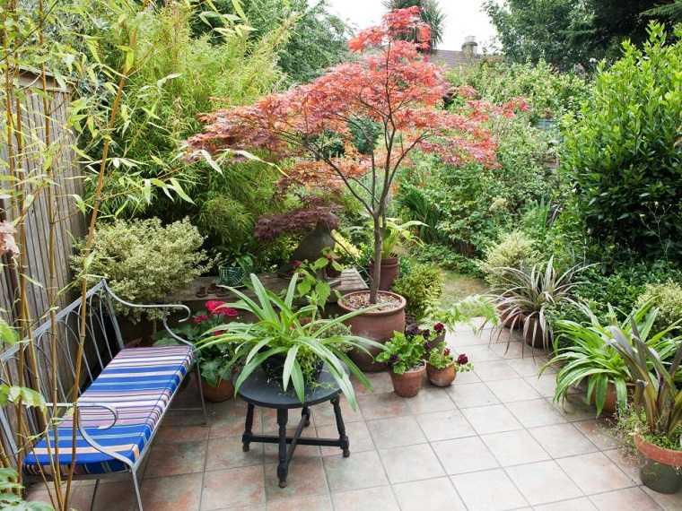 jardin salon exterior moderno