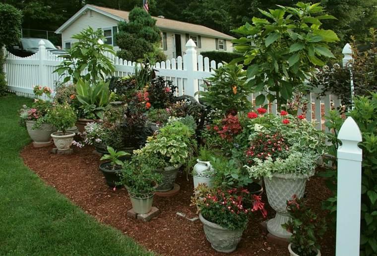 jardines mantillo suelos tratados