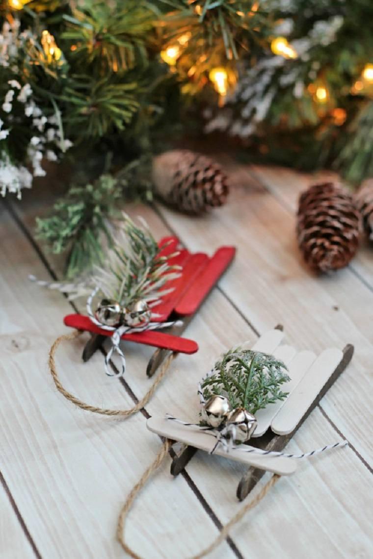 manualidades navidad ideas-decoraciones-arbol