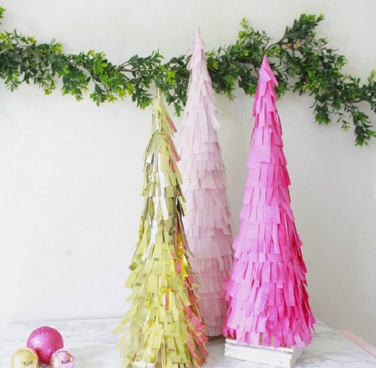manualidades-navidad-ideas-decoraciones-arboles-navidad-originales