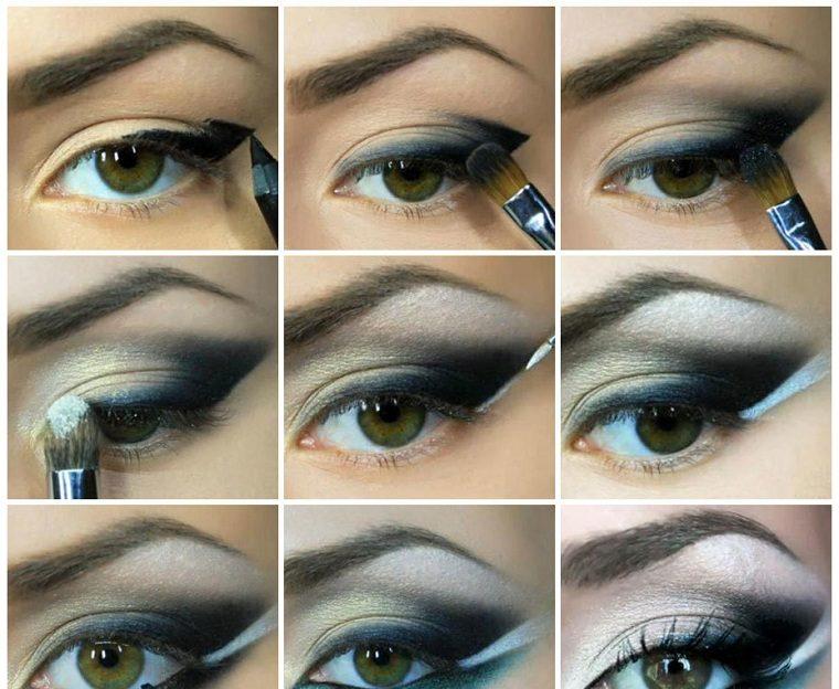 maquillaje de noche-opciones-estilo