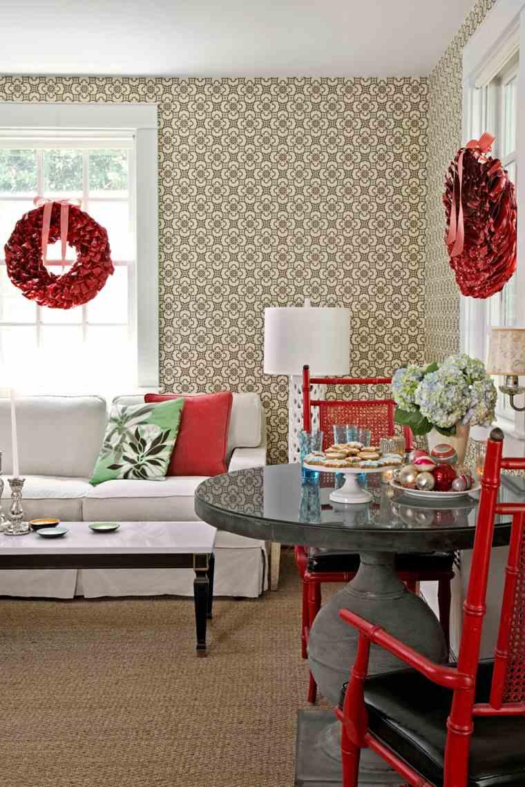 bonita decoración de mesa
