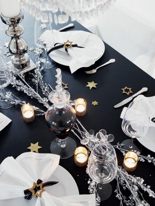 mesas de comedor ideas modernas negro