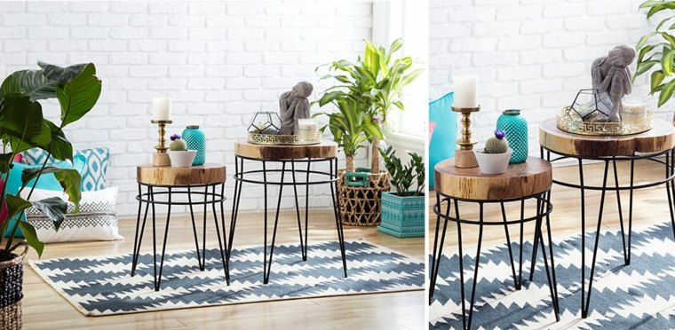 ideas para decorar una mesa de café
