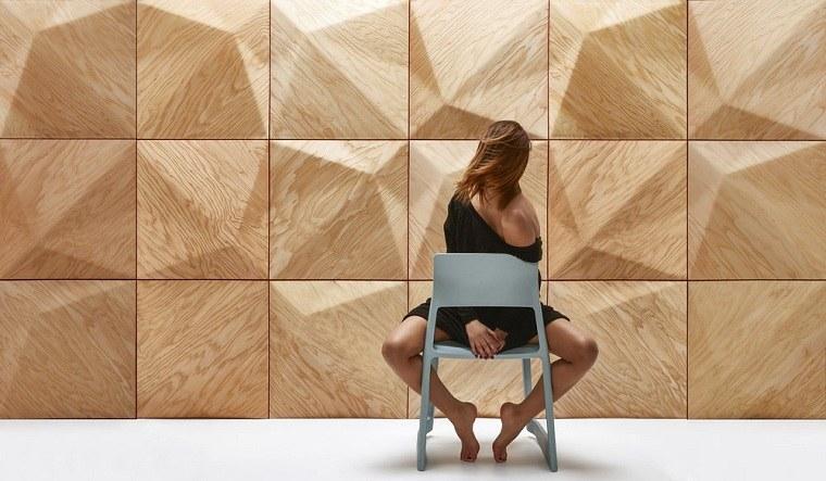 Paneles decorativos de madera con relieve los dise os de - Paneles con relieve para paredes ...