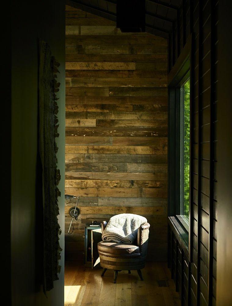 interior estilo rústico