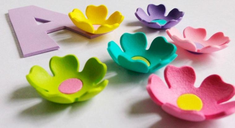 ideas para hacer manualidades sencillas con goma eva
